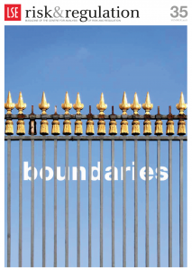 Boundaries, Centre for Analysis of Risk and Regulation.  Gill Kernick Learning from Grenfell