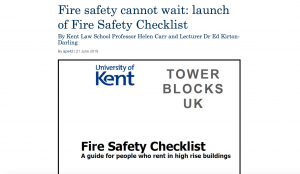 Fire Safety Checklist Blog